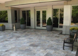 Silver Travertine Flooring