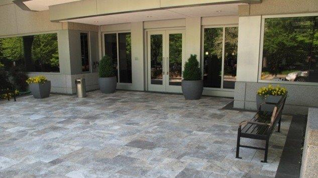 Silver Travertine Flooring · Second Mile Tile Professional Team